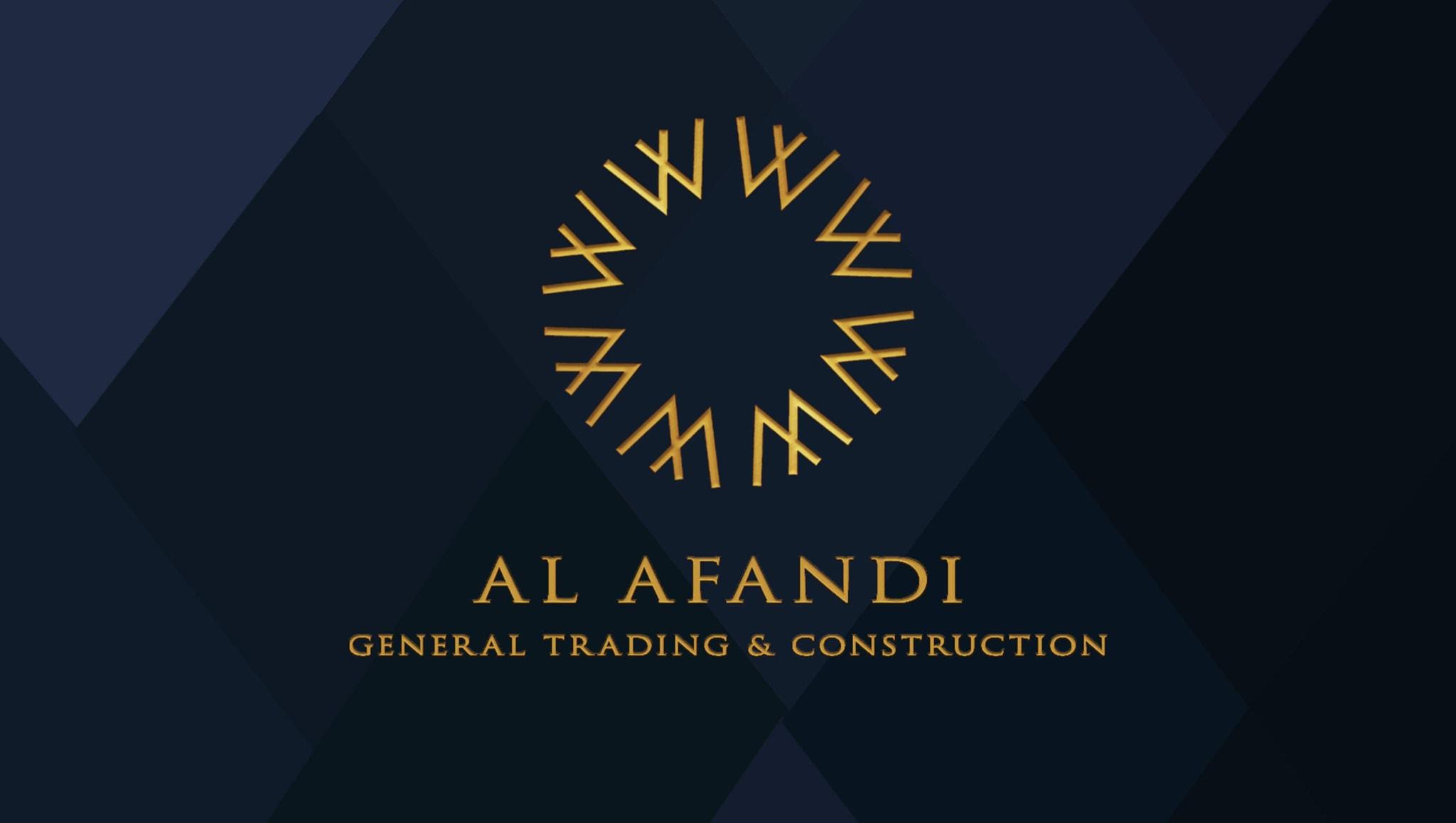 Al Afandi Trading  شركة الأفندي  التجارية